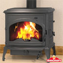 Bronpi Stoves Etna Multifuel Wood Burning Stove