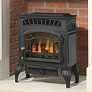 Burley Fires Esteem 4231 Log Flueless Freestanding Gas Stove