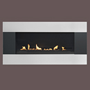 Burley Fires Longitude 4530 Flueless Gas Fire