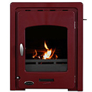 Carron Fires 4.7kW Darwin Red Enamel Inset Multifuel Stove