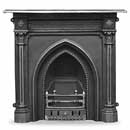 Carron Fires Gothic Cast Iron Combination