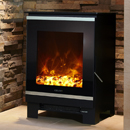 Celsi Electristove XD Glass 1 Freestanding Stove