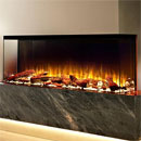 Costa Fires Discovery 1250 3 Sided Modern Electric Fire