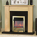 Costa Fires Union Electric Freestanding Fireplace Suite
