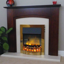 Delta Fireplaces Byley Electric Freestanding Suite