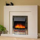 Delta Fireplaces Edge Electric Freestanding Suite