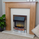 Delta Fireplaces Egerton Electric Freestanding Suite