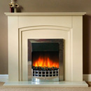 Delta Fireplaces Flint Electric Freestanding Suite