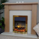 Delta Fireplaces Gosland Electric Freestanding Suite