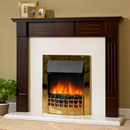 Delta Fireplaces Hatton Electric Freestanding Suite