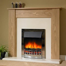 Delta Fireplaces Heswall Electric Freestanding Suite