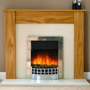 Delta Fireplaces Leicester Electric Freestanding Suite