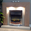 Delta Fireplaces Marton Electric Freestanding Suite