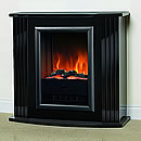 Dimplex Mozart Black Electric Fireplace