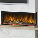 Elgin and Hall Pryzm Arteon 1000 3 Sided Modern Electric Fire