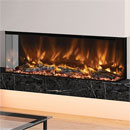 Elgin and Hall Pryzm Arteon 1250 3 Sided Modern Electric Fire