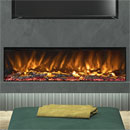 Elgin and Hall Pryzm Arteon 1500 3 Sided Modern Electric Fire