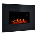 Eko 1110 Black Metal Wall Mounted Electric Fire