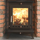 Ekol Stoves Crystal 8 Multifuel Wood Burning Stove