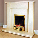 Inferno Fires Baltimore Marble Fireplace Surround