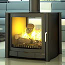 Firebelly Stoves FB2G Double Sided Gas Stove