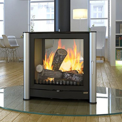 Firebelly Stoves FB3 Double Sided Wood Burner