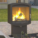 Firebelly Stoves Outdoor Firepod Wood Burner