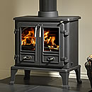 Gallery Fireplaces Firefox 8 Twin Door Cast Iron Multifuel Stove