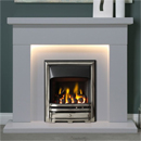 Gallery Fireplaces Durrington Arctic White Marble Fireplace