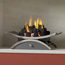 Gallery Fireplaces Nexus Small Gas Basket Fire