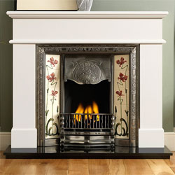 Gallery Fireplaces Normandy Cast Iron Gas Package
