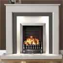 Gallery Fireplaces Riverslea Arctic White Marble Fireplace