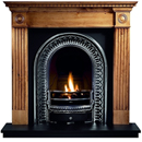 Gallery Fireplaces Roundel Solid Pine Surround