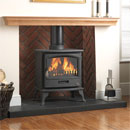 Gallery Fireplaces Tiger Multifuel Stove Package