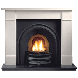 Gallery Fireplaces Tradition Cast Arch Gas Package