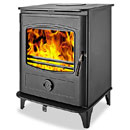 Graphite Stoves 10Kw Multifuel Wood Burning Stove