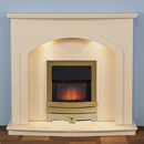 Harrier Fireplaces Dunn Contemporary Freestanding Electric Fireplace Suite