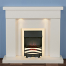 Harrier Fireplaces Foxhome Modern Freestanding Electric Fireplace Suite