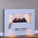 Harrier Fireplaces XT4 OptiMyst Freestanding Electric Suite