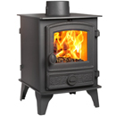 Hunter Hawk 4 Double Sided SD Multi Fuel Woodburning Stove