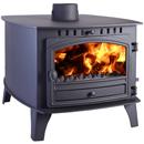 Hunter Herald 14 Double Sided DD Multi Fuel Wood Burning Stove