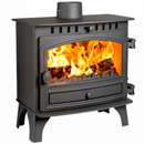 Hunter Herald 8 Slimline Multi Fuel Woodburning Stove