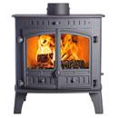 Hunter Herald 80B Multi Fuel Woodburning Boiler Stove