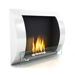 Imagin Fires Fuego White Bioethanol Fireplace