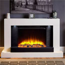 Katell Lares Electric Fireplace Freestanding Suite