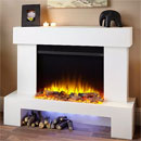 Katell Aurora Electric Fireplace Freestanding Suite