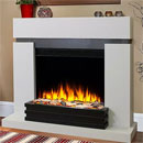 Katell Mercury Electric Fireplace Freestanding Suite