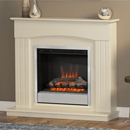 Be modern Fires Linmere Almond Single Bar Fret Electric Suite