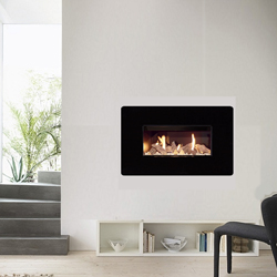 Apex Fires Liberty 6 Single Open Fronted Hole in the Wall Gas Fire