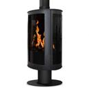 Oak Stoves Drifter Pedestal Freestanding Balanced Flue Gas Stove